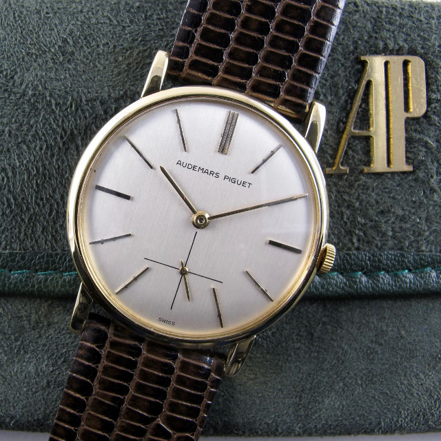 Audemars Piguet Ref. BA 5014 gold vintage wristwatch, made in 1954