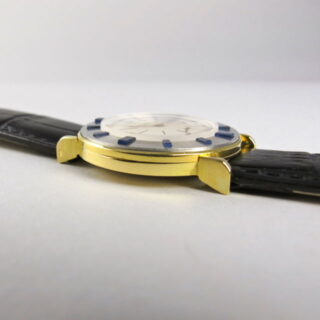 Two Colour Gold & Sapphire Audemars Piguet vintage wristwatch, made in 1956