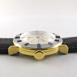 Two Colour Gold & Sapphire Audemars Piguet vintage wristwatch, made in 1956