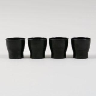 Set of 4 Bakelite Egg Cups