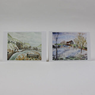 Pack of 10 Notecards - Eric Ravilious and Edward Bawden