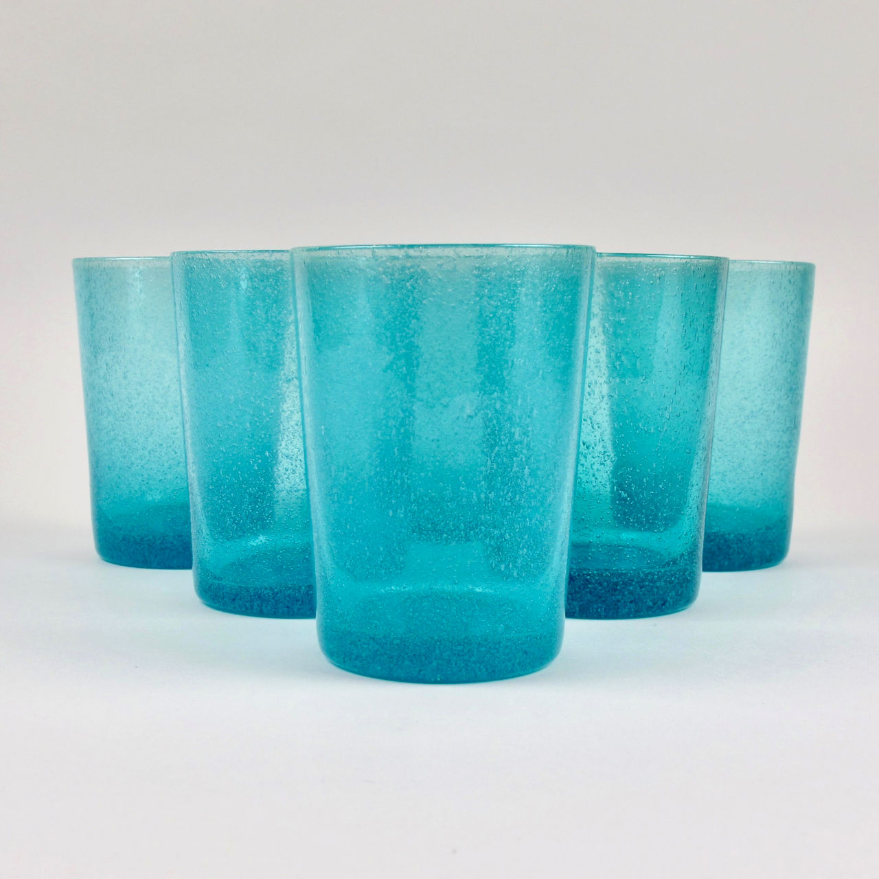 Boxed Set of 6 Recycled Glass Tumblers - Honey Bird