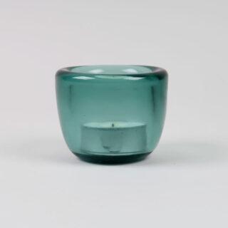 Handmade Glass Tealight Holder - Amulet