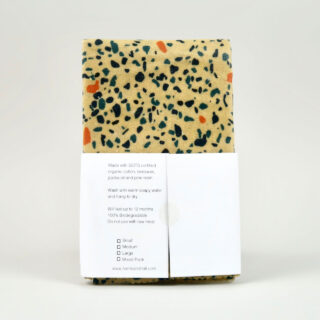 Beeswax Wrap - Multipack Terrazzo Blue