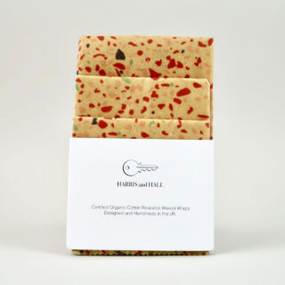 Beeswax Wrap - Multipack Terrazzo Pink