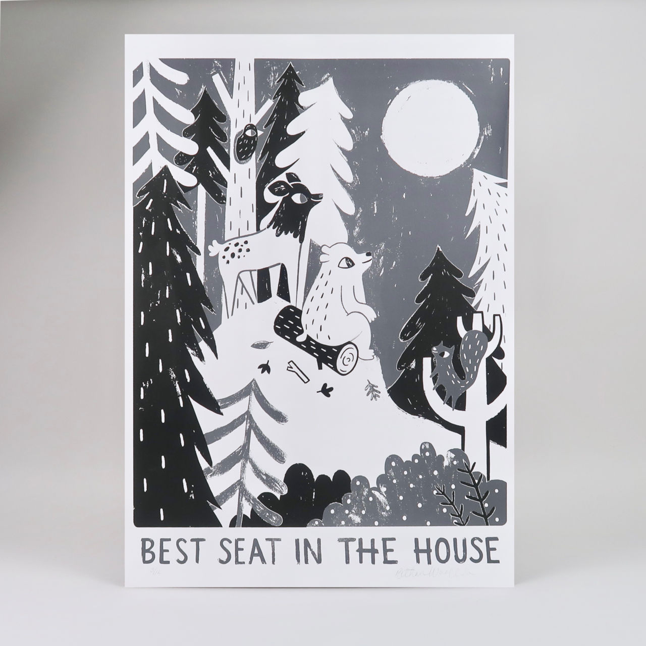 Best Seat in the House Screen Print