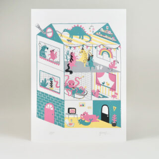 House Party Print