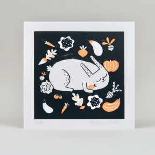 Vegetable Thief Print