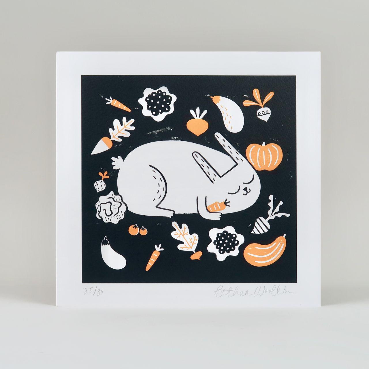 Vegetable Thief Print