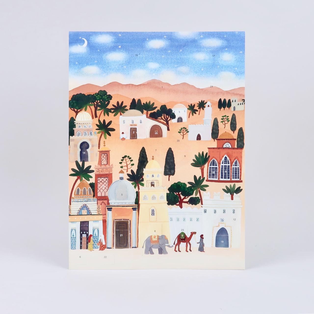 Bethlehem Advent Calendar by Claire Winteringham