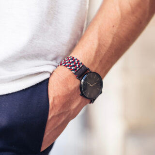 BillyBelt Amsterdam woven watch strap