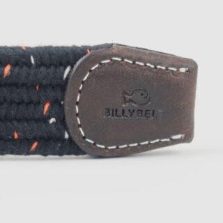 BillyBelt Club Black Pepper Woven Belt