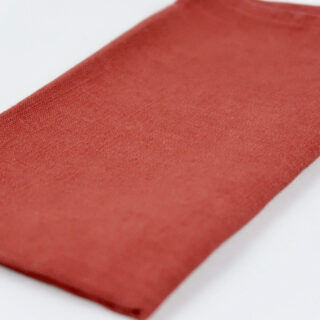 Dull Red 100% Linen Napkins - handmade in Ludlow