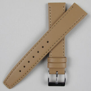 Fawn smooth leather watch strap | 8mm - 20mm