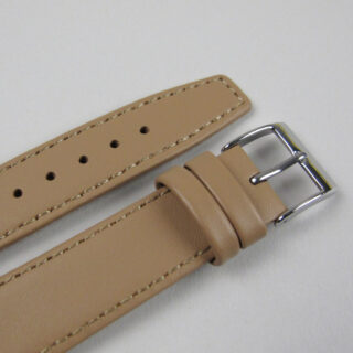 Fawn smooth calf leather watch strap 8mm - 20mm