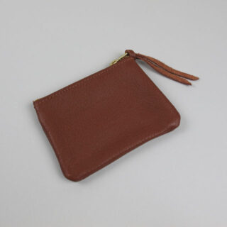 Leather Coin Purse, made in Worcestershire