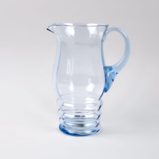 Blue Glass Lemonade Set