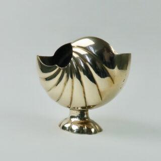 Brass Nautilus Vase