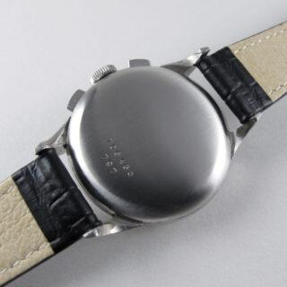 Steel Breitling Premier Ref. 797 vintage chronograph wristwatch, circa 1947
