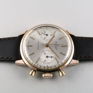 Breitling Top Time Ref. 2000 gold plated and steel vintage wristwatch, circa 1965