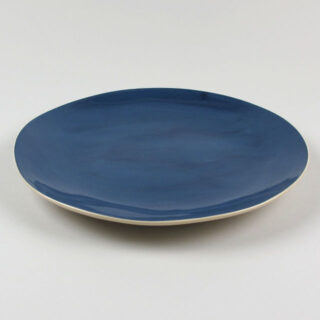 Dinner Plate by Brickett Davda, handmade in East Sussex