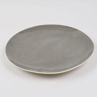 Dinner Plate by Brickett Davda, handmade in East Sussex