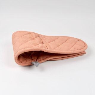 Double Oven Glove - Old Rose