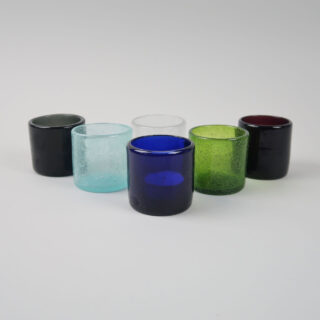 Coloured Glass Tea Lights