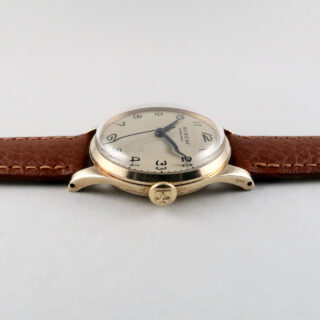Buren Grand Prix hallmarked 1956 | 9ct gold mid-size manual vintage wristwatch