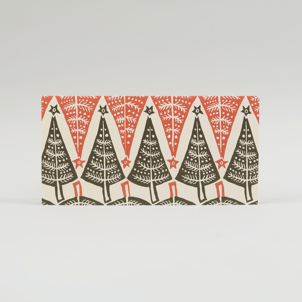 Pack of 6 Long Dancing Tree Cards