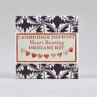 Garland of Hearts Origami Kit by Cambridge Imprint