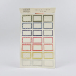 42 Self Adhesive Labels