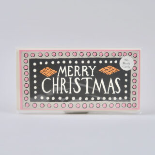 Pack of 6 Long Christmas Cards - Charleston Christmas