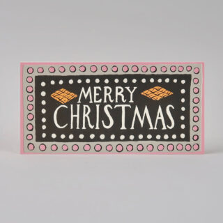 Pack of 6 Long Christmas Cards - Charleston Christmas