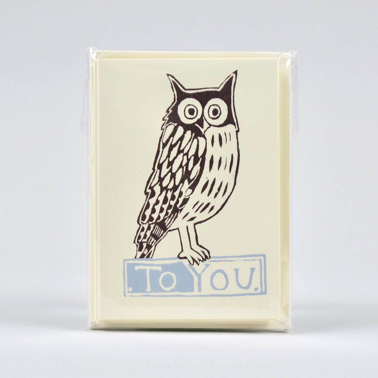 Owl To You - Pack of 6 small cards