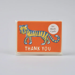 Pack of 6 Small Cards - Thank You Little Tiger