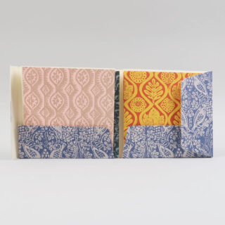 Set of 8 Patterned cards by Peggy Angus