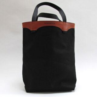 Canvas And Leather Tote Bag By Edinburgh Based Bohemia Design Bdmum V03
