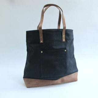 Canvas And Leather Tote Bag By Edinburgh Based Bohemia Design Bdmum V11