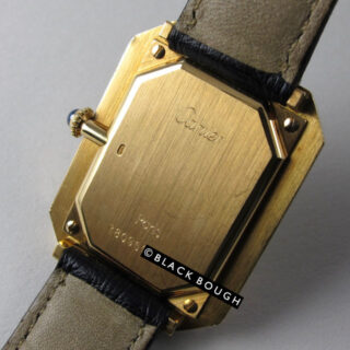 Gold Cartier Paris Cristallor vintage wristwatch, circa 1975