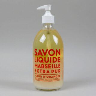 Savon Liquide Marseille - 500ml - Fleur d'Oranger
