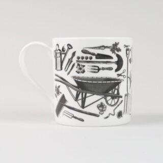Gardening Fine China Mug