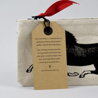 Screen-printed Pencil Case - Horse