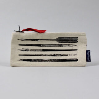 Pens - Screenprinted Pencil Case