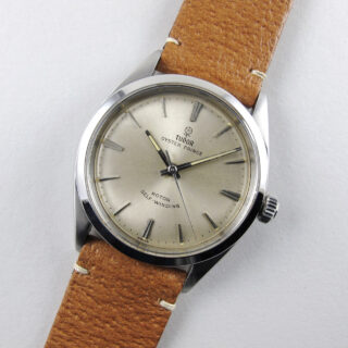 Christopher Clarke for Black Bough handmade pig skin leather watch strap