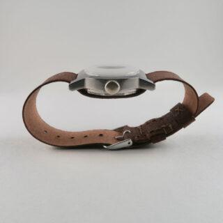 Christopher Clarke for Black Bough handmade pig skin pull-through watch straps