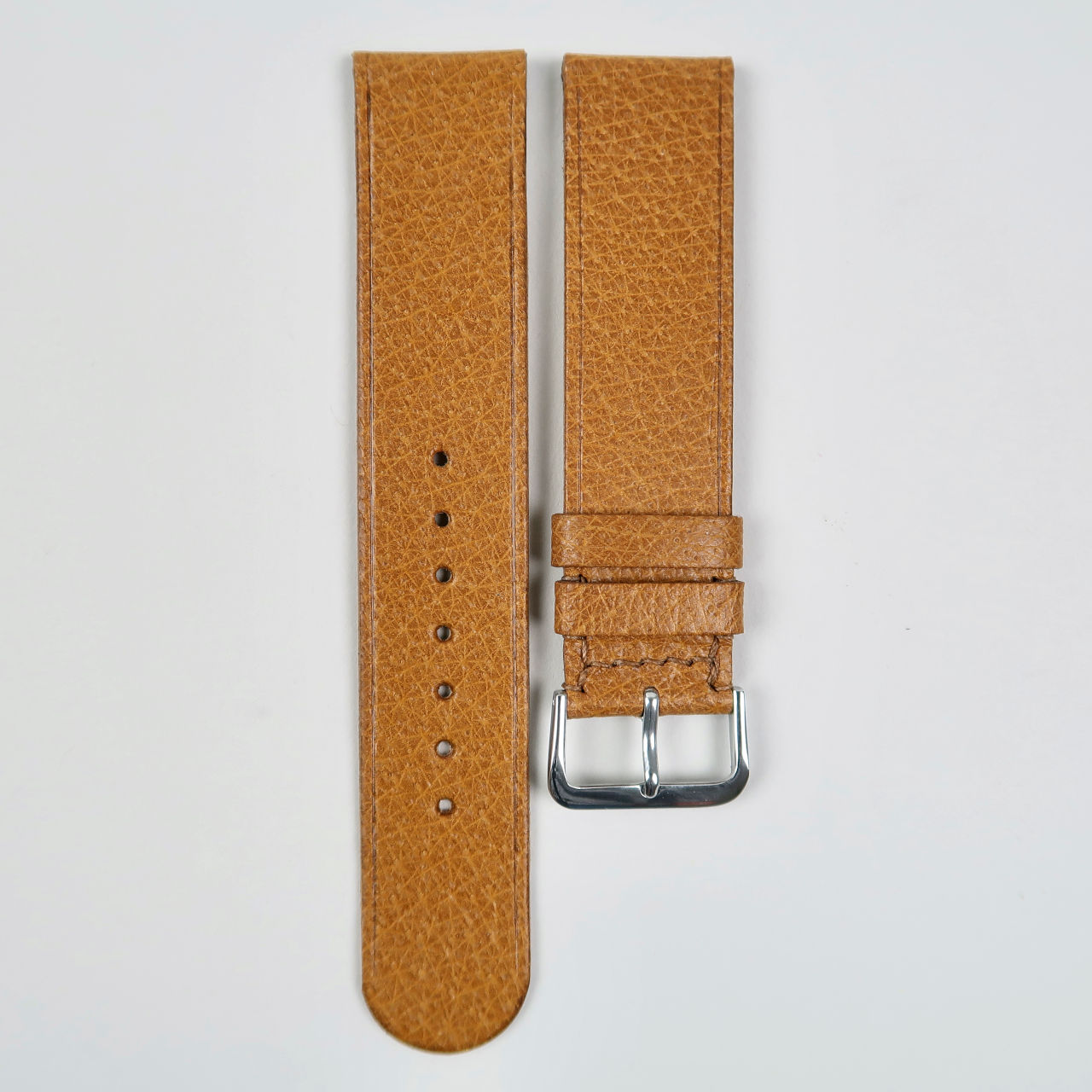 Christopher Clarke for Black Bough No.3 handmade pig skin leather watch strap