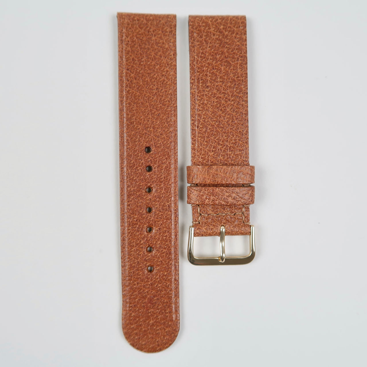 Christopher Clarke for Black Bough No.6 handmade pig skin leather watch strap