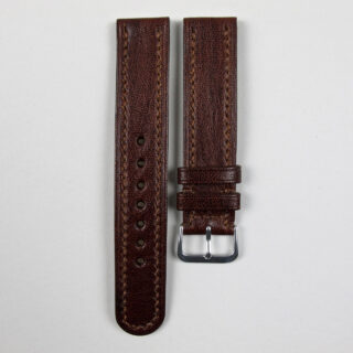 Christopher Clarke for Black Bough handmade kangaroo leather watch strap