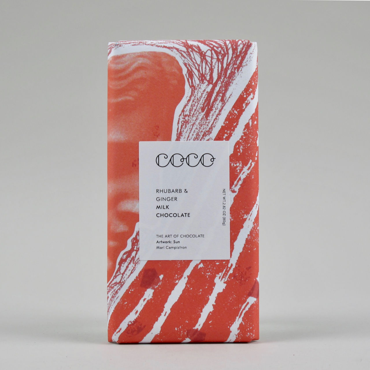 Rhubarb & Ginger Milk Chocolate